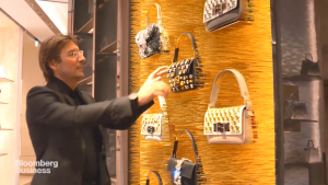 Fendi feature with CEO Pietro Beccari