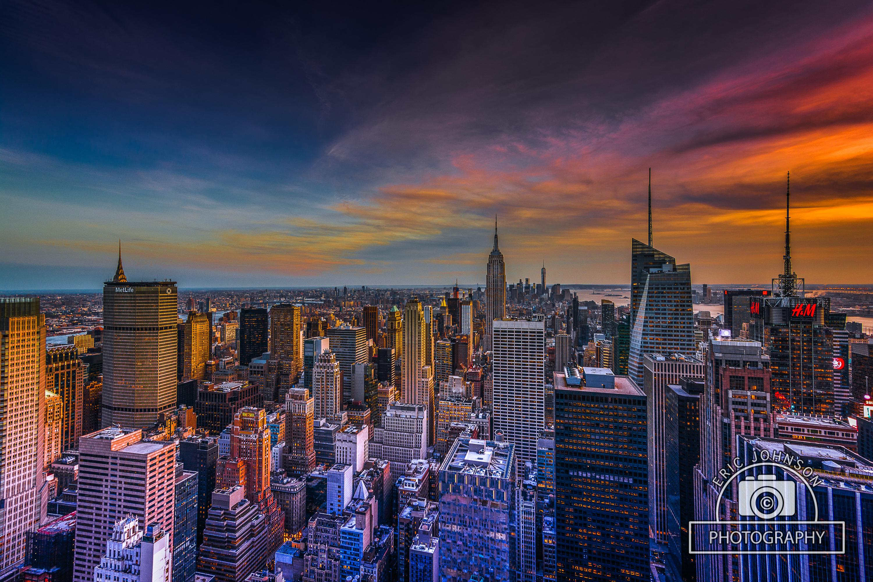 NY-sunset