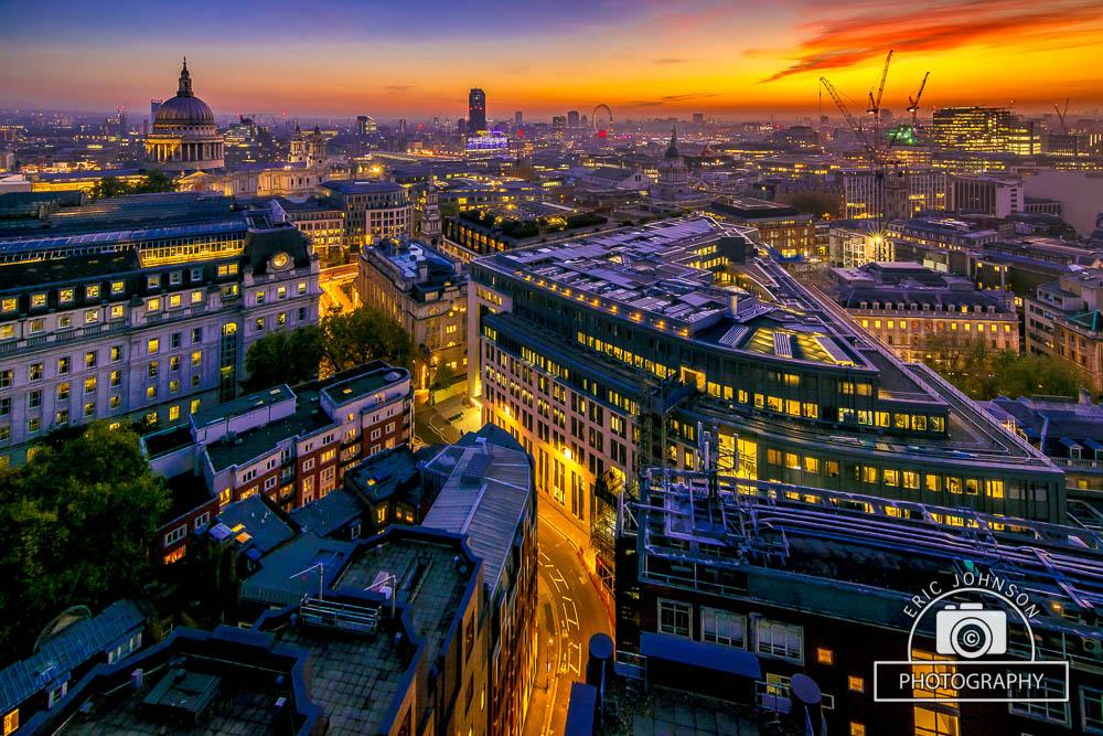 London-sunset