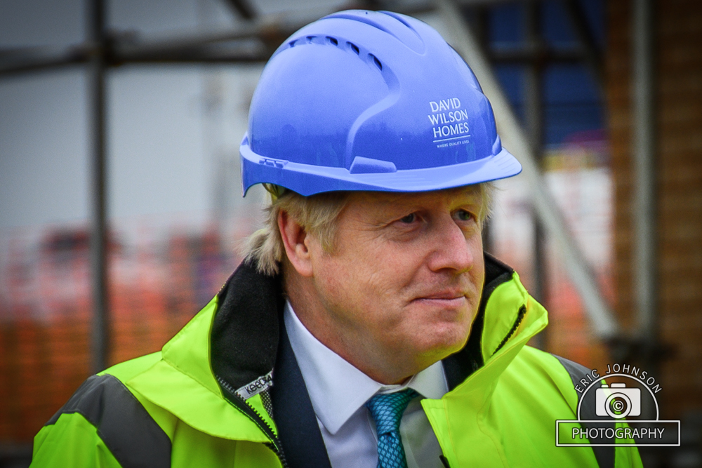 Boris Johnson the builder